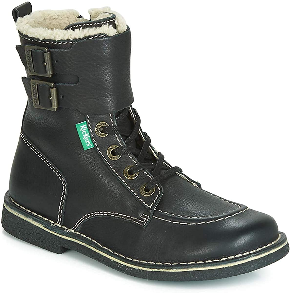 Kickers MEENELY Bottines//Boots Femmes Noir Boots