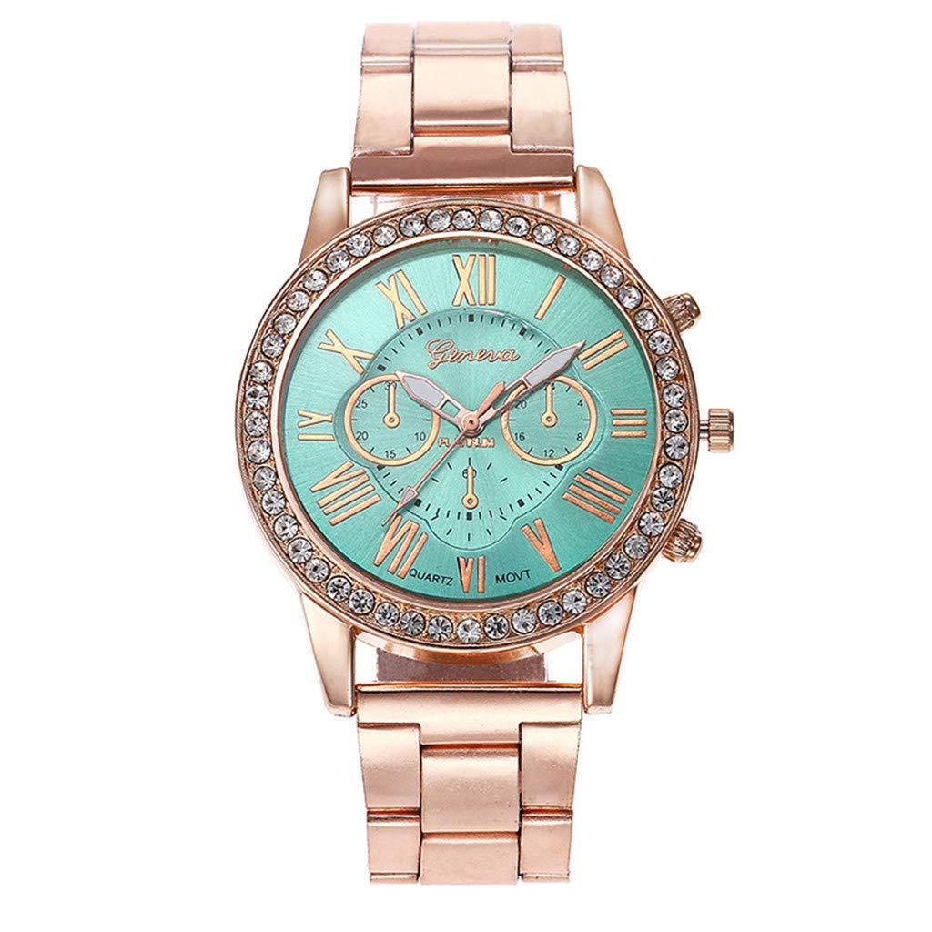 Clearance Sale! Gibobby Watches,Classic Luxury Stainless Steel Quartz Wristwatch Chronograph Mechanical Gear Minimalist Analog Wrist Watches