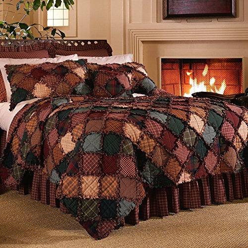 Campfire King 4-Piece Quilt Set by Donna Sharp