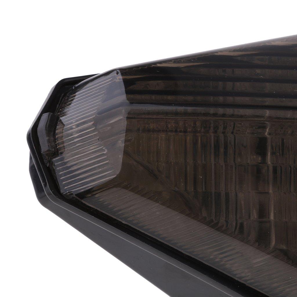 Homyl Clear Motorcycle LED Rear Tail Light for Yamaha YZF1000 R1 2007-2008 Smoke