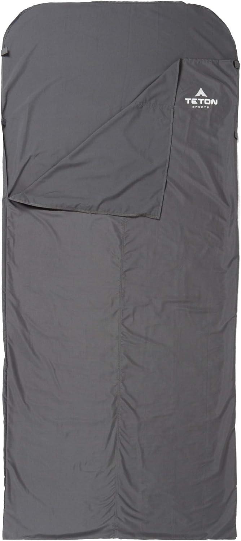Teton Sports Schlafsack Liner; inklusive Stuff Sack