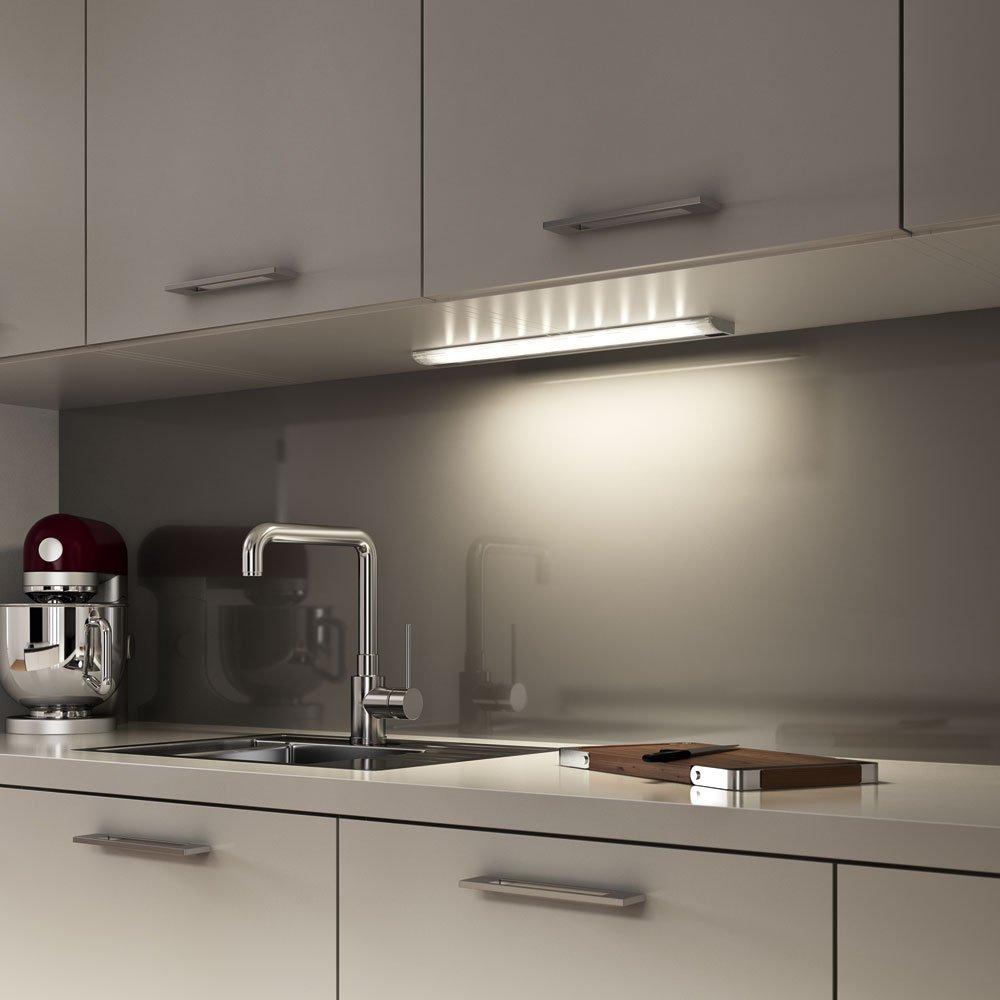 Osram LED-Unterbauleuchte, SlimShape, silber, LED Küchenlampe ...