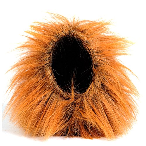 Hoopet Lion Mane Wig Costume with Ears for Pet Dog and Cat Cosplay Apparel Lion Hat Perfect for Halloween Christmas Festival Party,Fit Small Animal Puppy Kitten (Without Ears) (Most Tasteless Halloween Costumes)