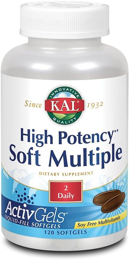 KAL High Potency Soft Multiple Softgels, 120 Count