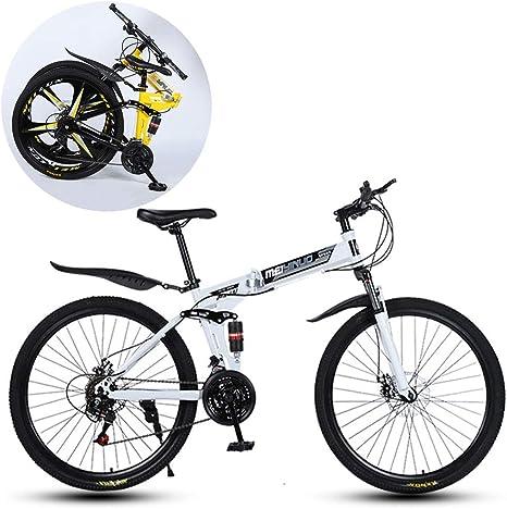 JFSKD Bicicletas De Montaña, Plegable Velocidad Absorción De ...
