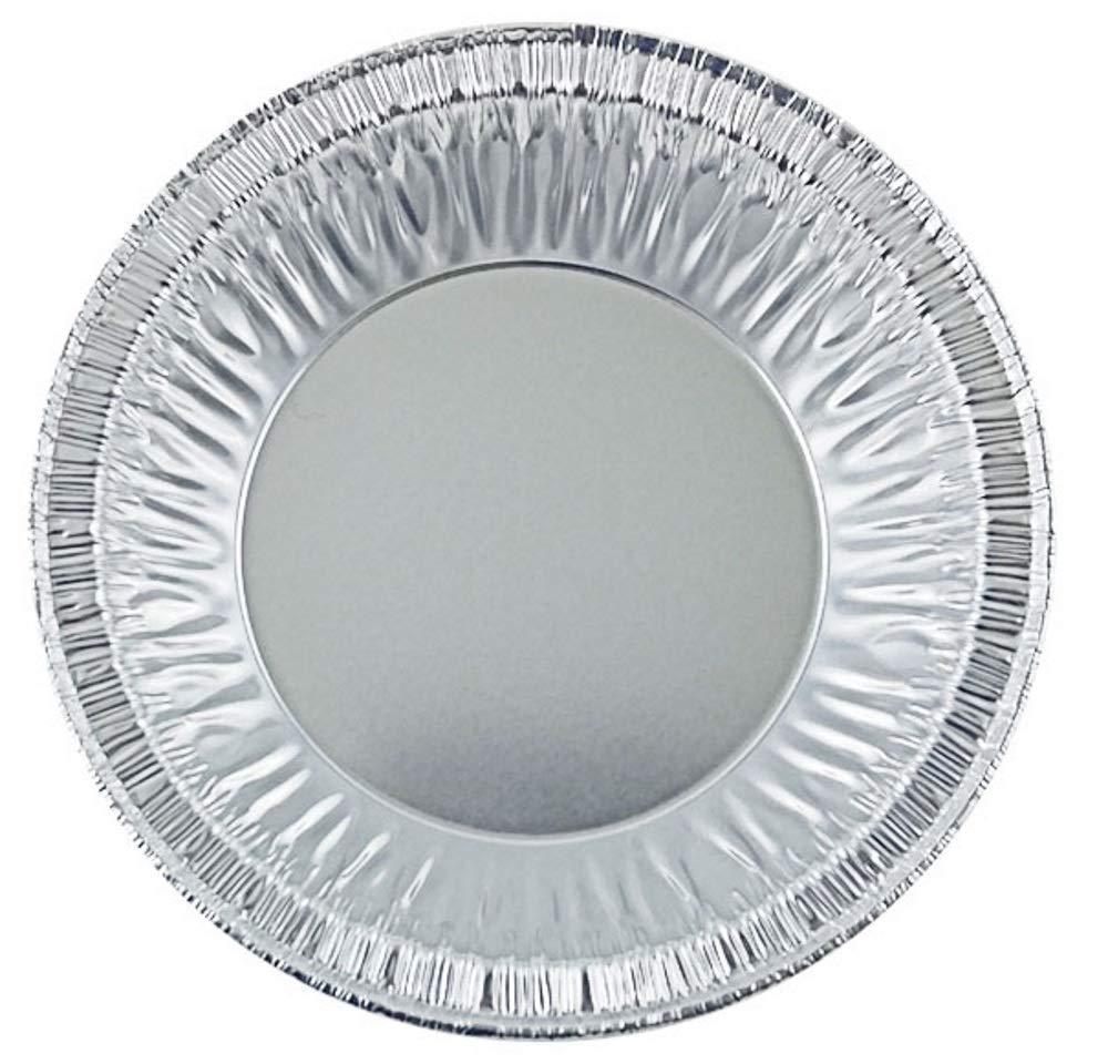 Pactogo 4'' Aluminum Foil Tart Pan 7/8'' Deep - Disposable Mini Baking Pie Tins (Pack of 500)