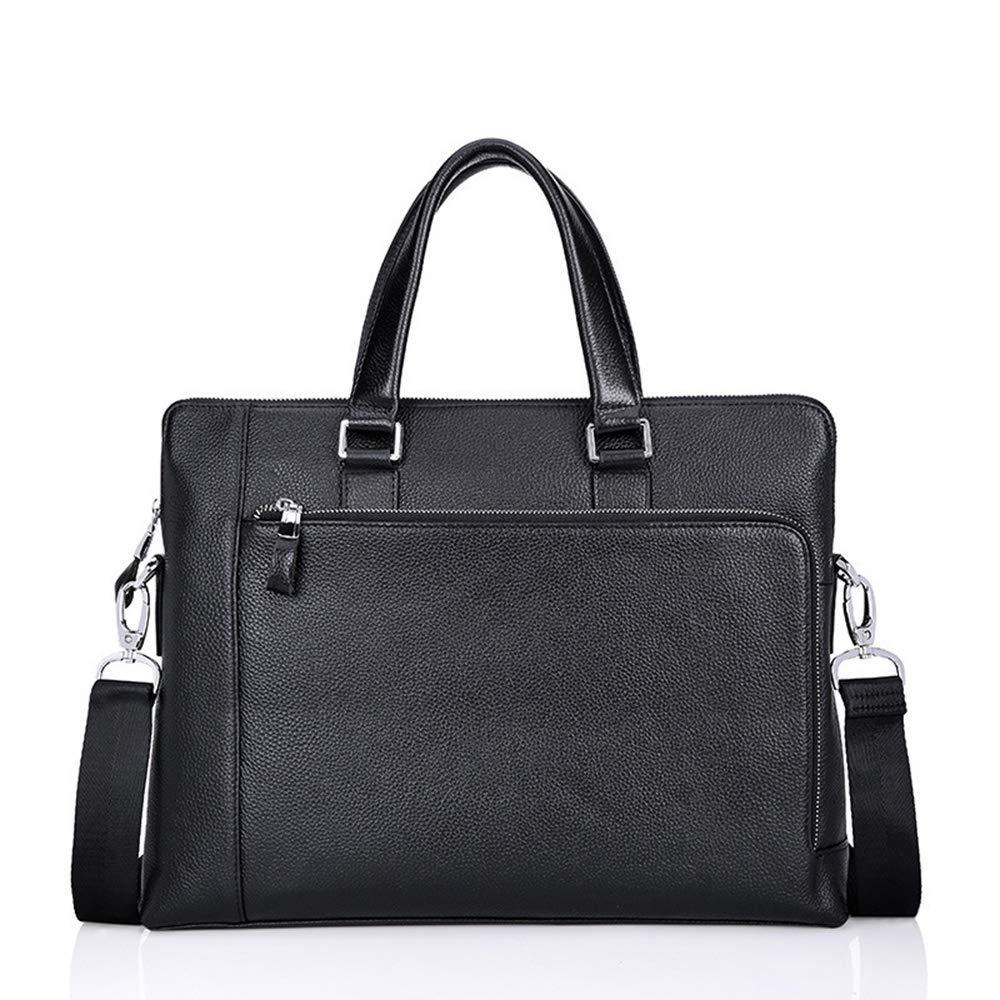 DQMSB Mens Handbag Business Bag Cross Section Briefcase Casual Computer Bag Mens Bag Slung Shoulder Bag