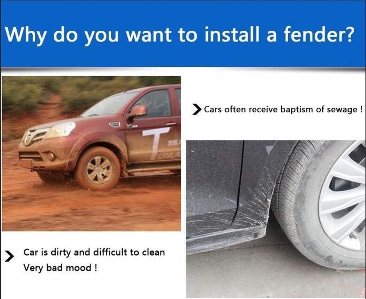 Nologo ROYAL STAR TY Front Rear Car Mud Flaps for Skoda Kodiaq 2016 2017 2018 Mudflaps Splash Guards Mud Flap Mudguards Fender Car Accessories