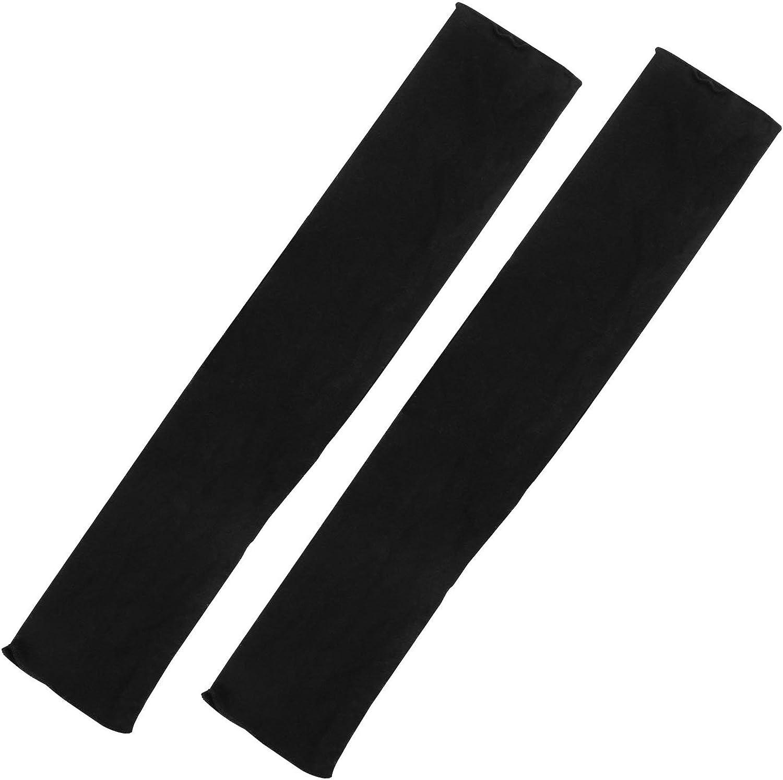 Trixes Modische lange Damenhandschuhe in Schwarz f/ür Oper Retro fingerlos