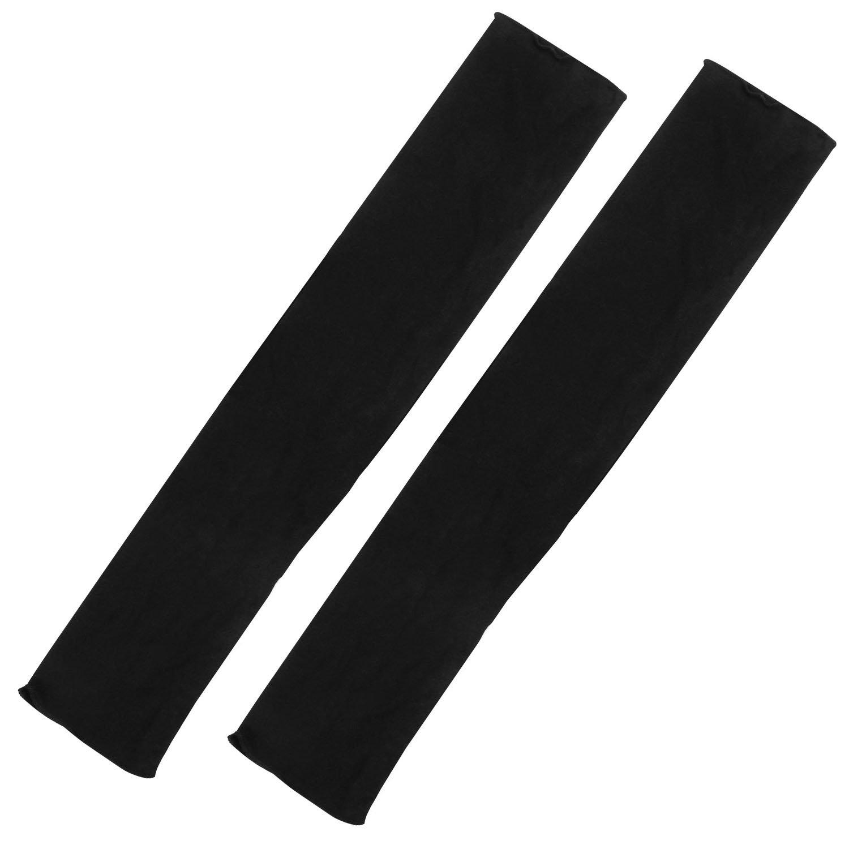 Trixes Modische lange Damenhandschuhe in Schwarz, fingerlos, für Oper Retro für Oper Retro