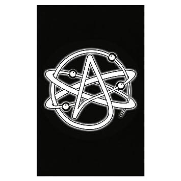 Amazon Esparosa Atheist Atom Symbol Atheism Poster Posters