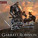 The Nightblade Epic, Volume 1: A Book of Underrealm Audiobook by Garrett Robinson Narrated by Hillary Huber