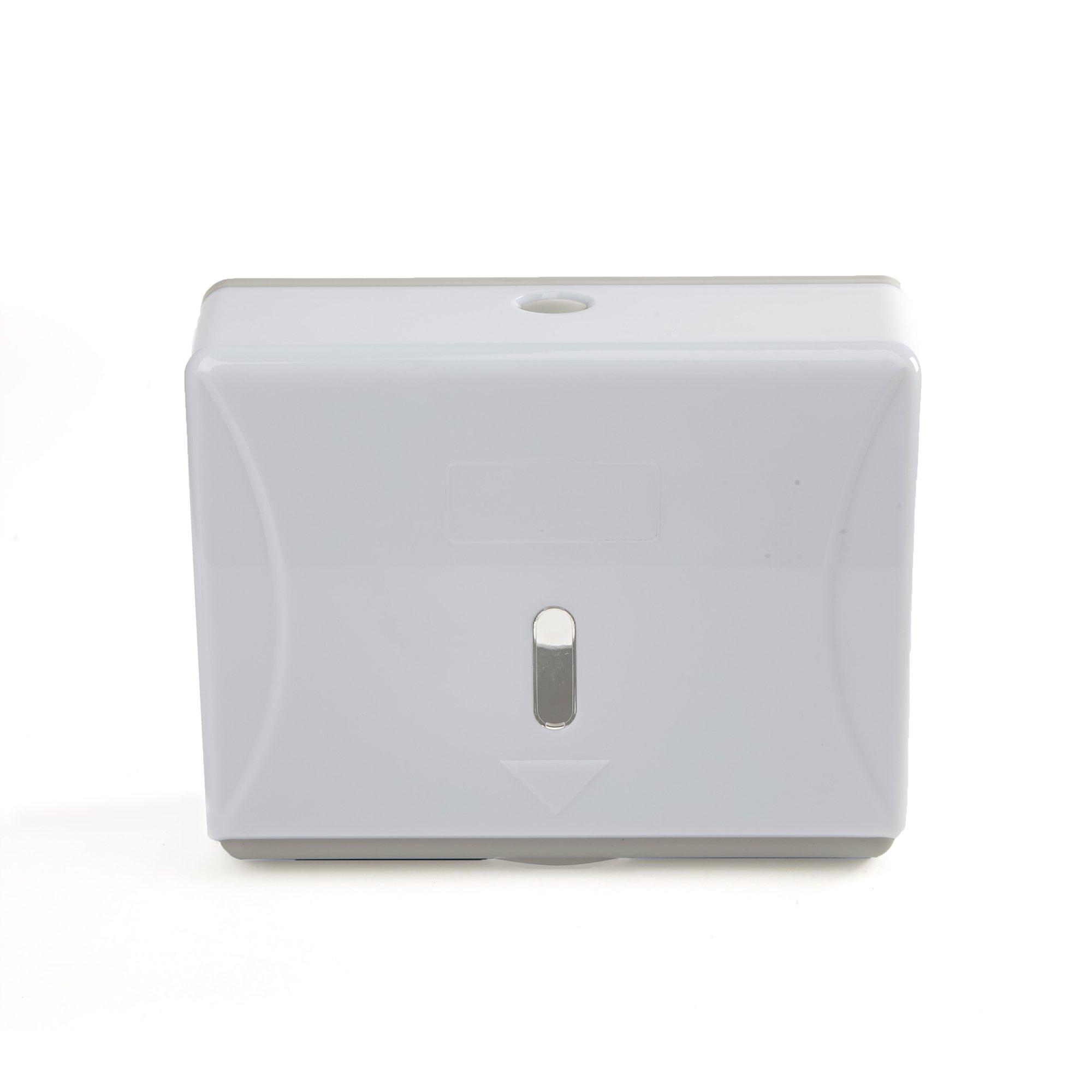 Mind Reader Multi-Fold Paper Towel Dispenser, Paper Towel Holder, 3.75 in. L x 10.5 in. W x 14 in. H