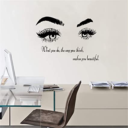 Stickers Muraux 3d Sticker Mural Sticker Mural Eye Beauty