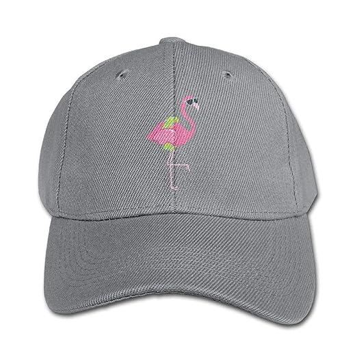 Flamingo Clipart Border Boys Girls Adjustable Snapback Curved Visor Baseball  Caps Toddler Trucker Hats d13e10d8f0a