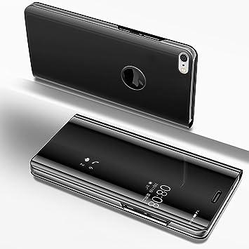 coque miroir iphone 7 noir