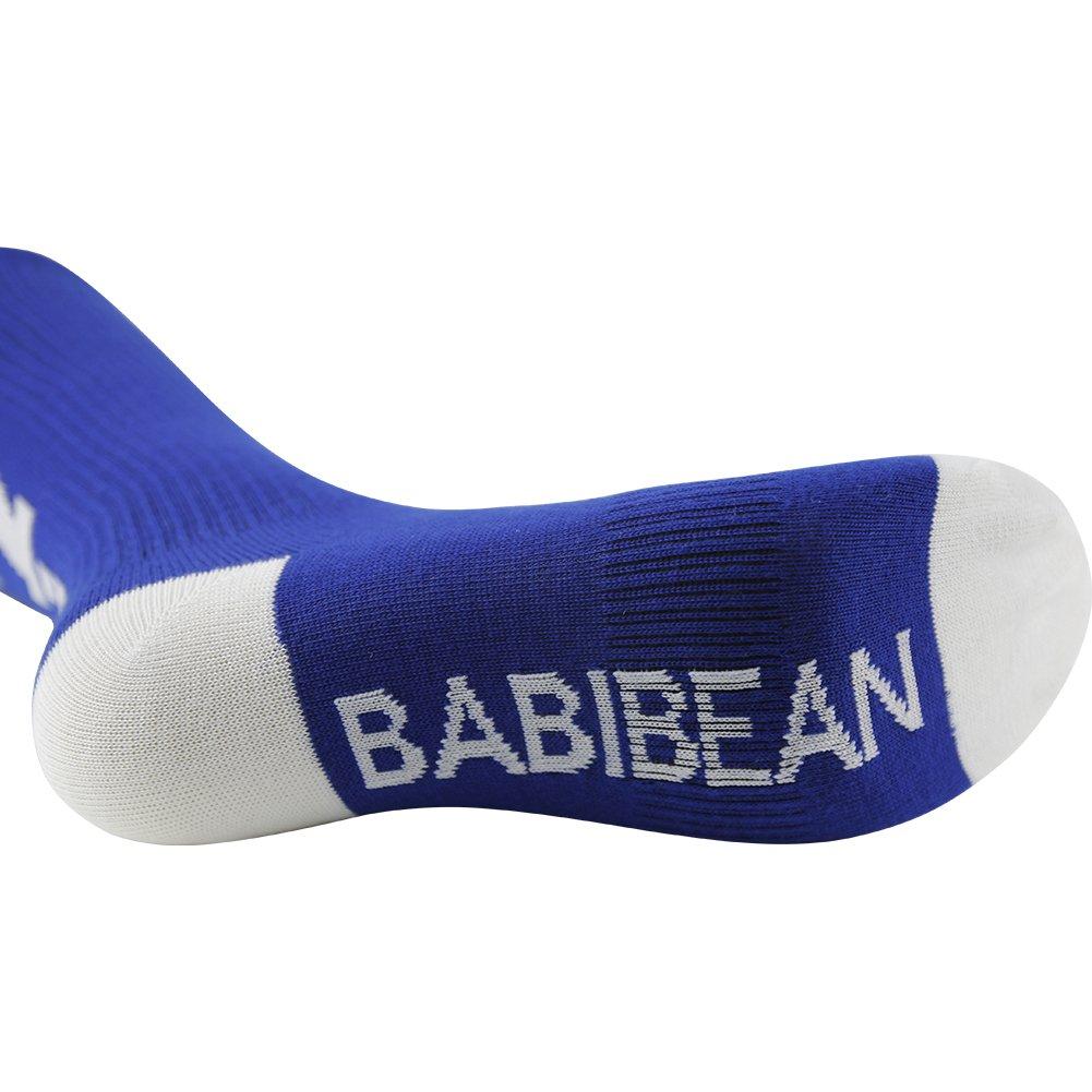 Boys Girls School Football Socks BABIBEAN Mid Calf Sports Socks 1//3//4 Pair