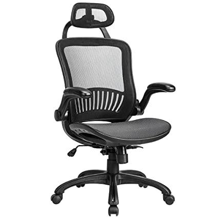 BestMassage High Back Adjustable Mesh Home Office Chair, Ergonomic Rolling Swivel Desk Chairs with Lumbar Amazon.com: Chair
