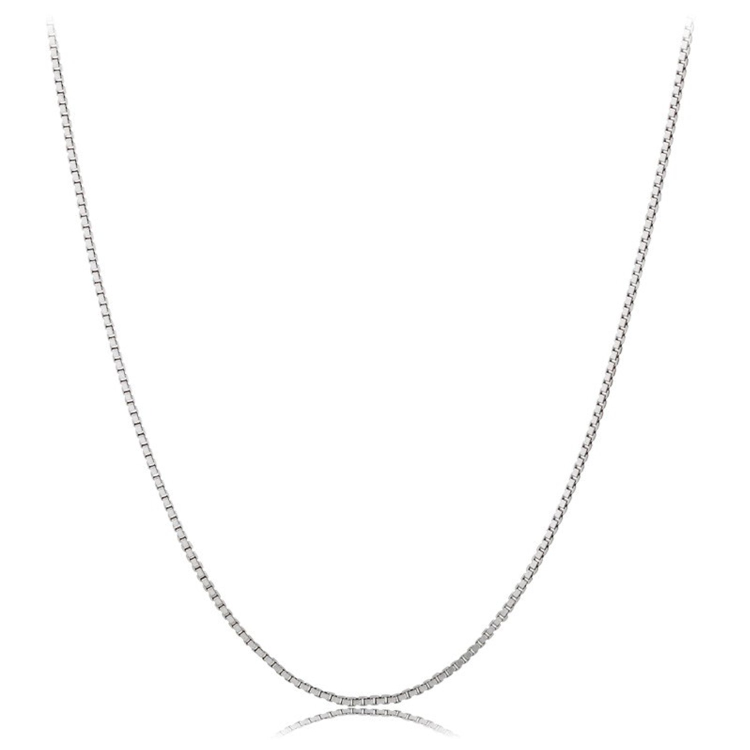 Box Chain,Uhibros Sterling Silver 0.8mm Nickel Free Necklace 16\