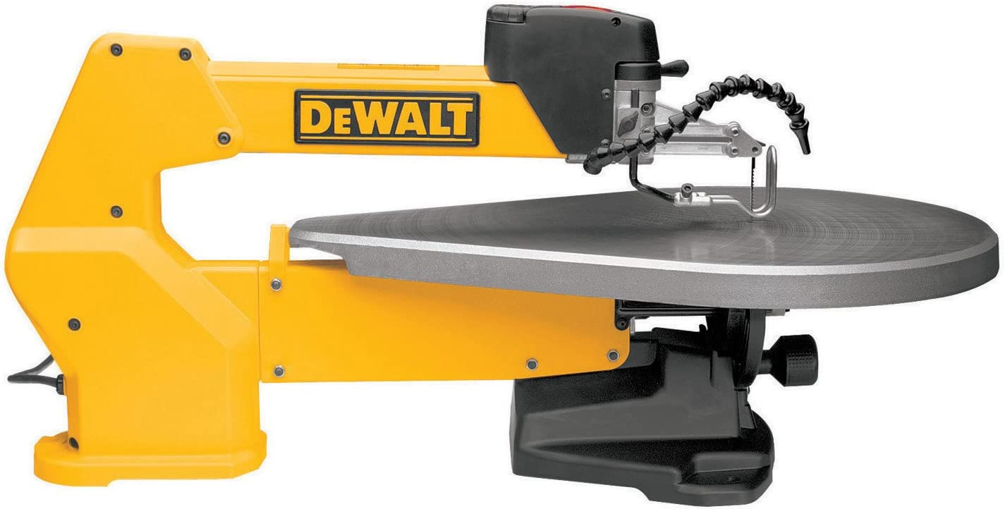 DEWALT DW788 Scroll Saw- Best Saw for Cutting Shapes Out Of Wood
