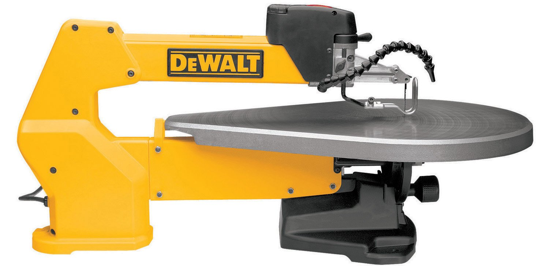 DEWALT DW788 1.3 Amp 20-Inch Variable-Speed Scroll Saw - Yellow by DEWALT