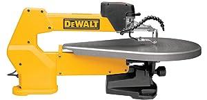 DEWALT DW788 1.3 Amp 20-Inch Variable-Speed Scroll Saw - Yellow