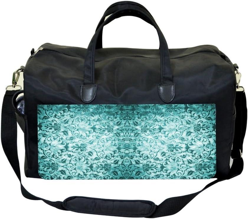 Jacks Outlet Vintage Green Damask Design Sports Bag