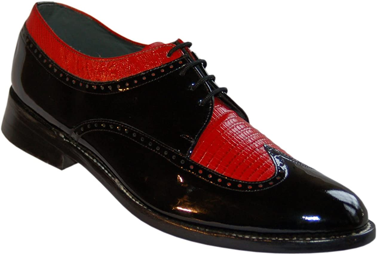 Stacy Baldwin Black and Red Wingtip