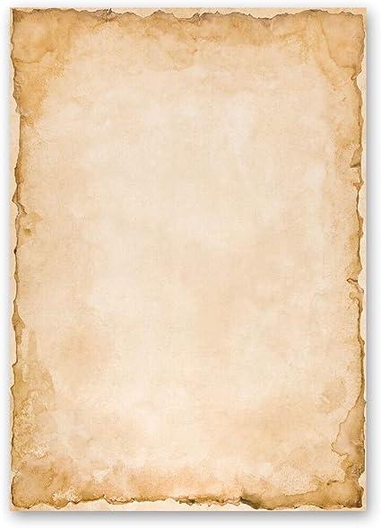 Paper-Media 100 fogli di carta da lettera decorati Marmo /& Struttura MARMO TERRACOTTA DIN A4
