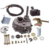Waverspeed Go Kart Reverse Gearbox for 2HP-13HP Engine 4 Stroke Forward Reverse Gearbox 30 Series Torque Converter #35…