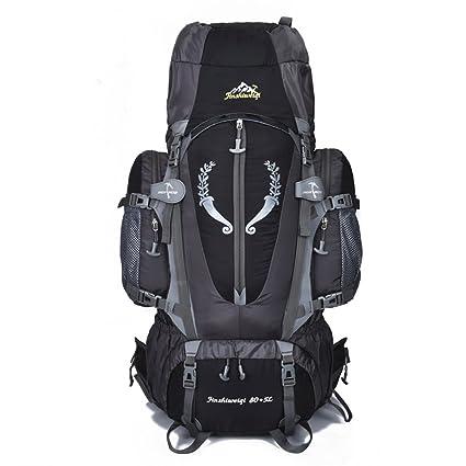 8d8ab086a10b Amazon.com : Fengtu External Frame Backpacks 80L+ 5L backpacks for ...