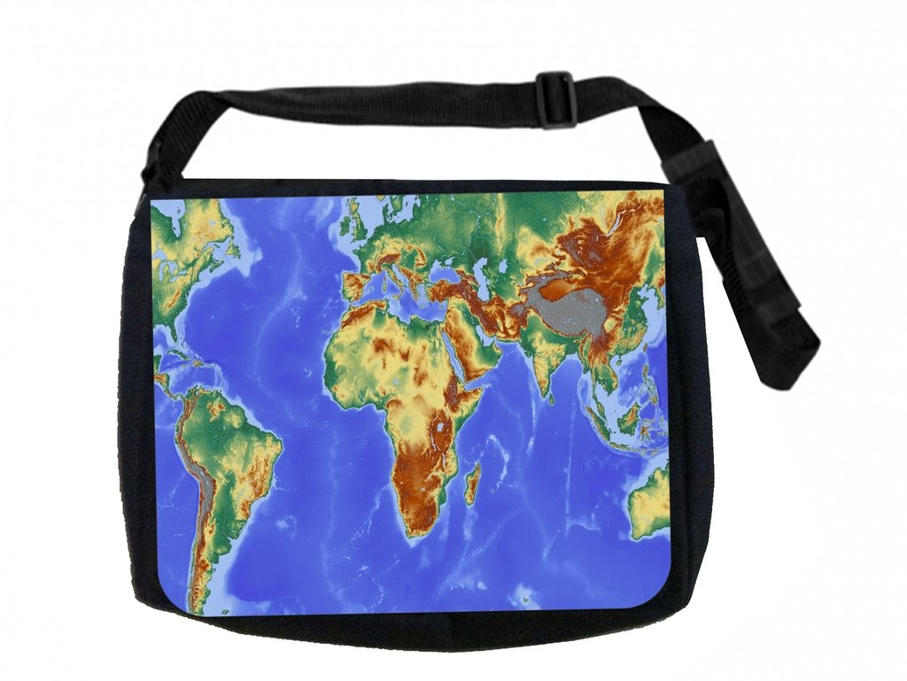 Amazon.com: Map Max Wilder TM Messenger Bag and Pencil Case Set