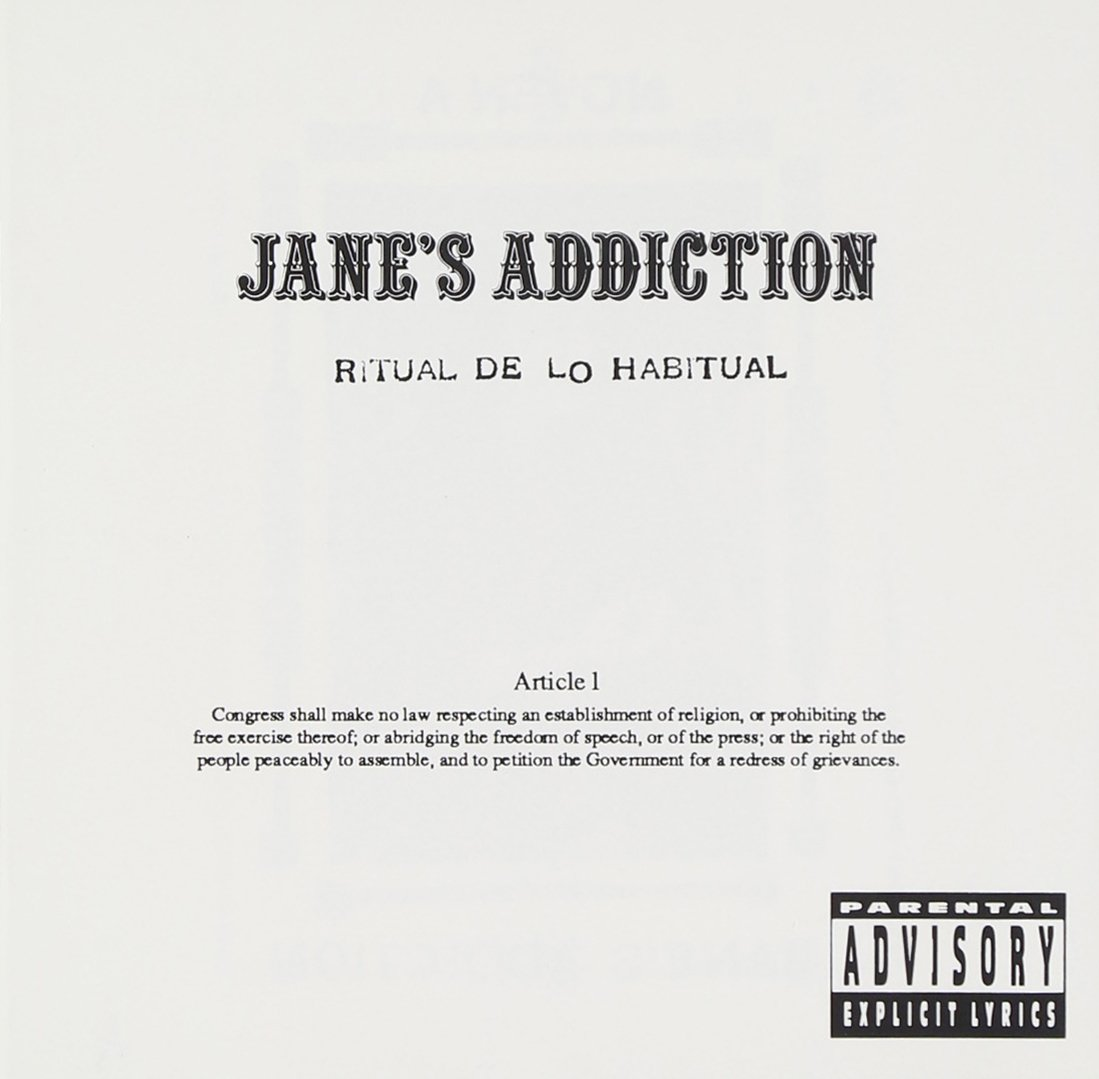 JANE'S ADDICTION - Ritual De Lo Habitual - Amazon.com Music