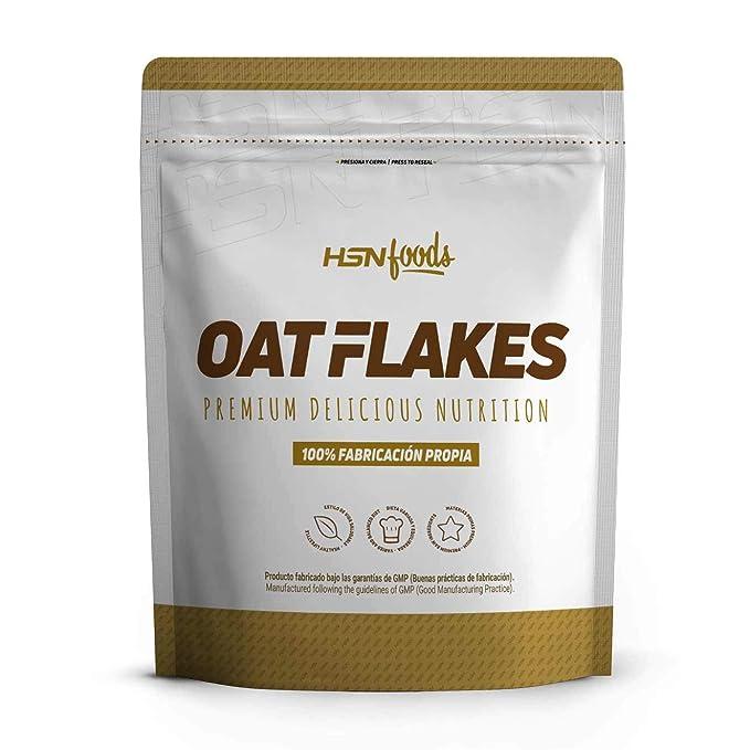 Copos de Avena Integrales de HSN Foods | Oat Flakes | Cereal con Proteínas, Carbohidratos