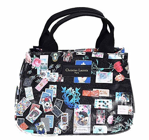 Cabas Mini Noir Game Christian Lacroix Pretty TEzna1WqYW