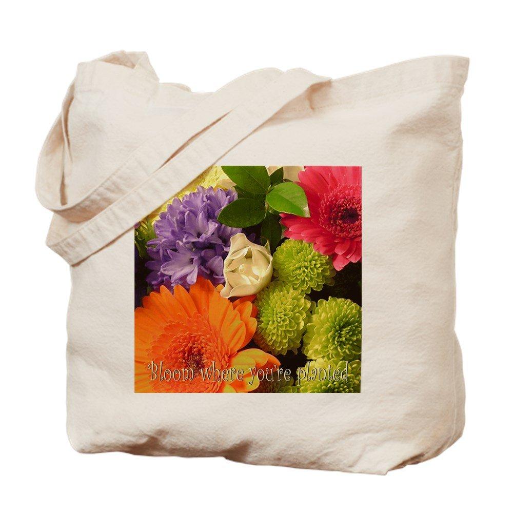 超人気高品質 CafePress – Time to – Bloom – Bloom ナチュラルキャンバストートバッグ、布ショッピングバッグ – B01JN8K7BQ, 斐川町:7575599b --- arianechie.dominiotemporario.com