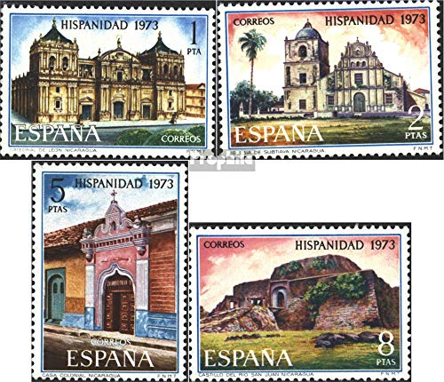 Spain 2049-2052 (Complete.Issue.) 1973 Nicaragua (Stamps for Collectors)