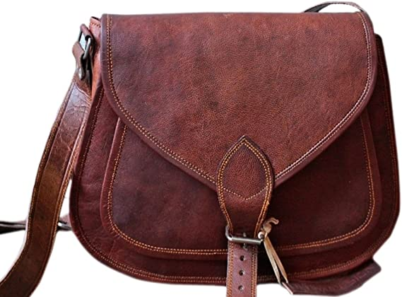 Women Leather Small Shoulder Handbag Tote Crossbody Messenger Satchel Sling Bag
