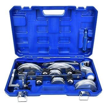 Curvatubi kit piegatubi manuale CT-999RF in lega di alluminio 3//8 1//2 5//8 3//4 7//8 di pollice