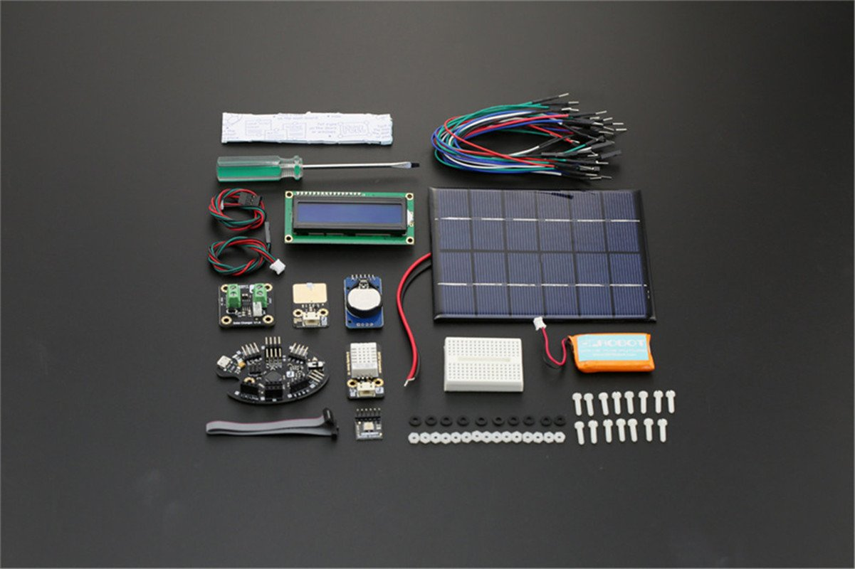 DFROBOT Weather Station Kit with Solar Panel by DFROBOT (Image #2)