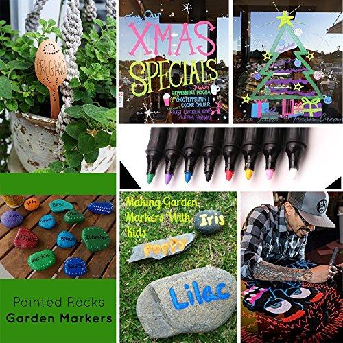 Paint Markers Ceramic Pens Set - Permanent Acrylic Paint ...