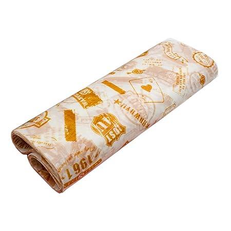 50 PC a prueba de aceite Alimentación de papel para hornear papel ...