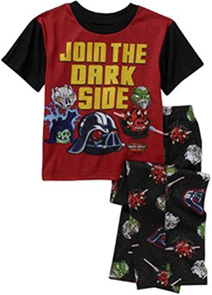 Angry Birds Star Wars Boys  Short SleeveT-Shirt Black Black