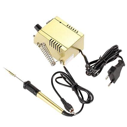 Funnyrunstore Mini estación de soldadura Fast Heating Solder Iron Equipo de soldadura eléctrica portátil para SMD