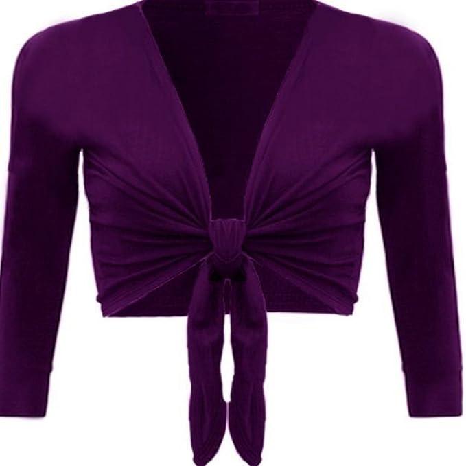 Corbata envoltorio traje de neopreno para mujer en la parte frontal boleros chaqueta de señora en