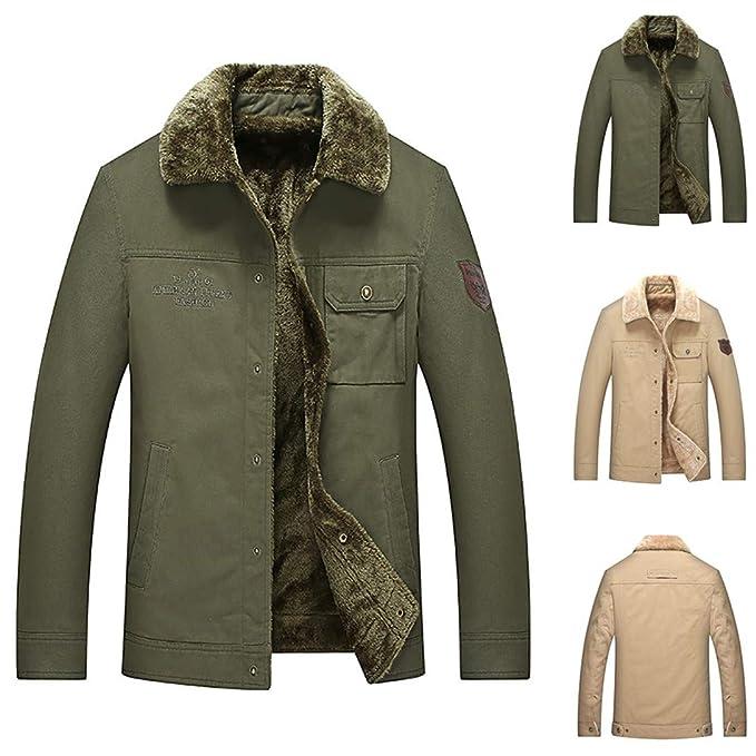 Amazon.com: FRCOLT L-8XL - Chaqueta de invierno para hombre ...