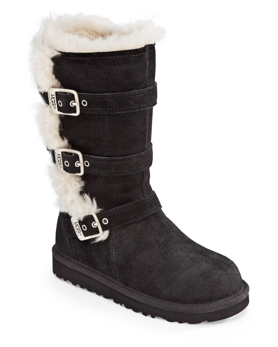 UGG Australia Infants' Maddi Shearling Boots,Black by UGG (Image #1)