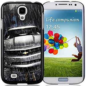 Fashion DIY Custom Designed Samsung Galaxy S4 I9500 Phone Case For Silver Chevrolet Camaro In The Rain Phone Case Cover