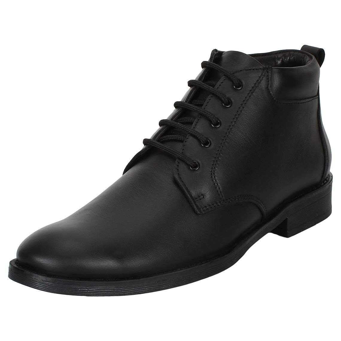 a74f15a03f SeeandWear Ankle Black Formal Shoes for Men: Buy Online at Low Prices in  India - Amazon.in