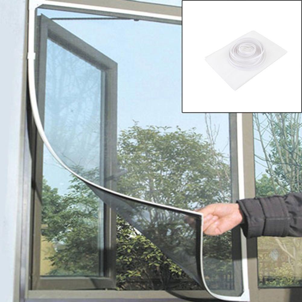 Teabelle Protector de mosquitera autoadhesivo para ventanas, mosquitos, mosquitos, mosquitos, mosquitera